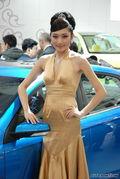 中华美女车模