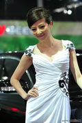 吉奥清纯美女车模