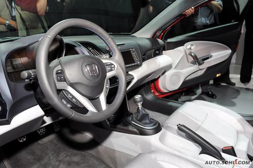 本田 CR-Z Concept 实拍 外观 [环保概念] [跑车] 图片