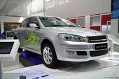 瑞麒G5混合动力车展实拍
