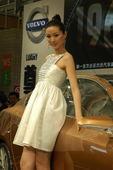2009上海车展沃尔沃车模