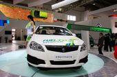 志翔燃料电池车轿车展实拍