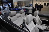 宝马3系敞篷车展实拍