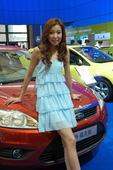 2009上海车展福特车模