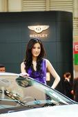 2009上海车展宾利车模