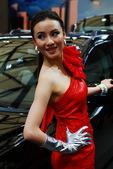 2009上海车展克莱斯勒车模