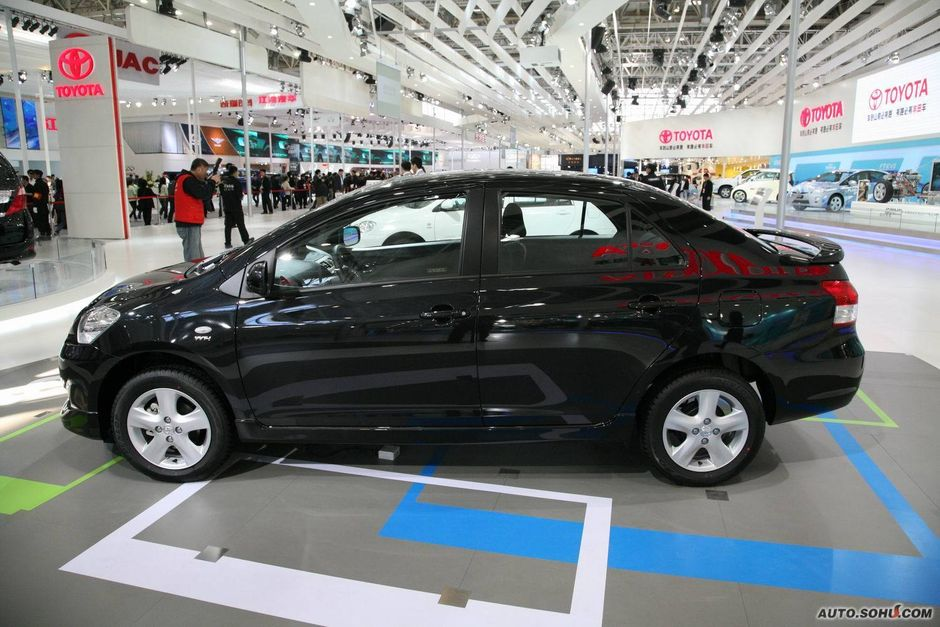 一汽丰田 威驰 丰田威驰车展实拍 车展车型 2010北京车展 -丰田威驰高清图片