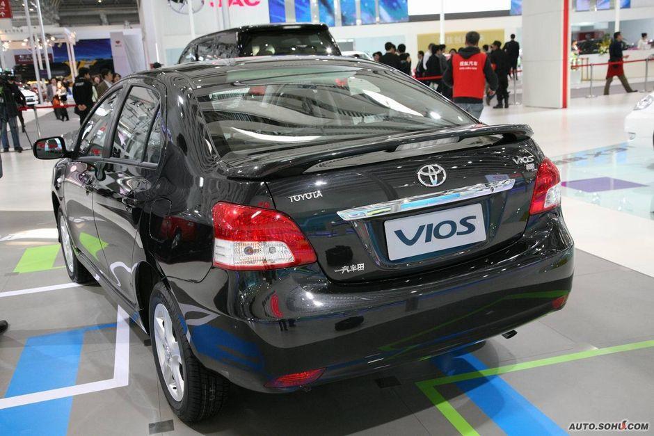 丰田 一汽丰田 威驰 丰田威驰车展实拍 车展车型 2010北京