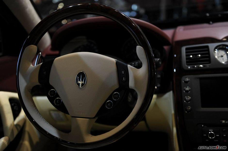 玛莎拉蒂 玛莎拉蒂 总裁 玛莎拉蒂总裁行政版车展实拍高清图片