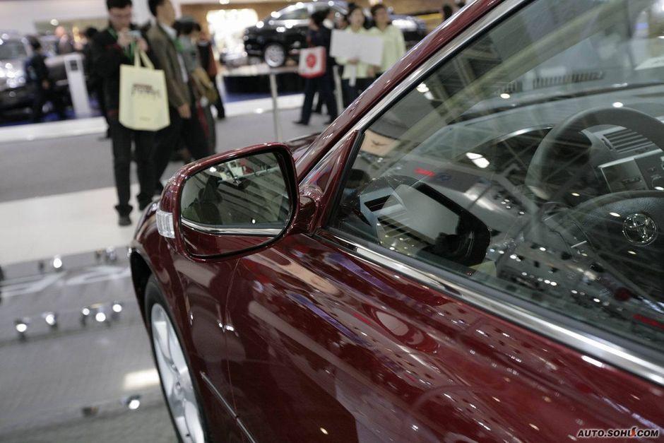 一汽丰田 锐志 丰田锐志车展实拍 车展车型 2010北京车展 -丰田锐志高清图片