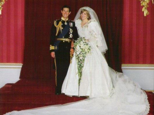 英国王室婚礼 戴安娜王妃vs凯特王妃