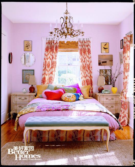 5.缤纷元素 打造斑斓卧室