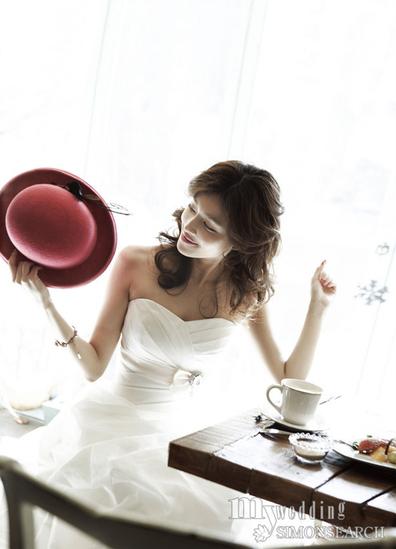 My Wedding May Issue>>صور لجينجر,أنيدرا
