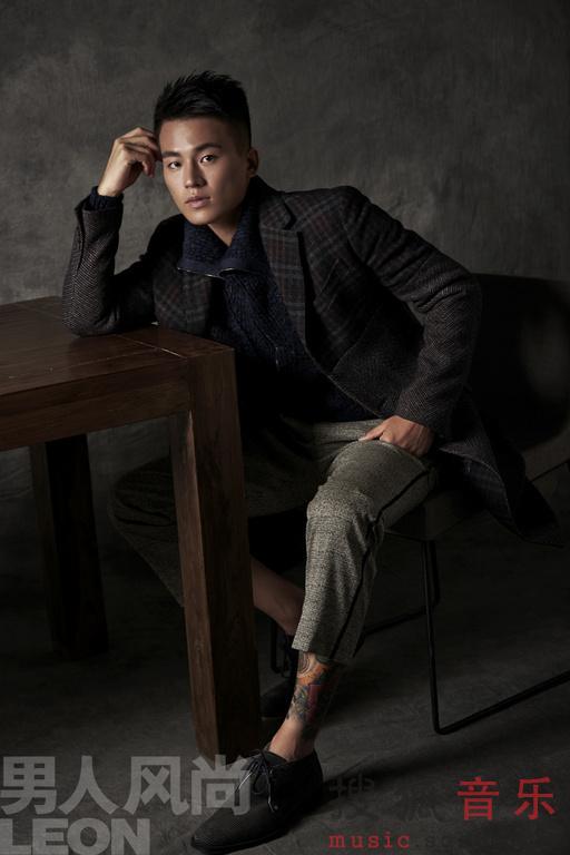欧豪登 男人风尚 封面 魅力型男千面闪耀图片