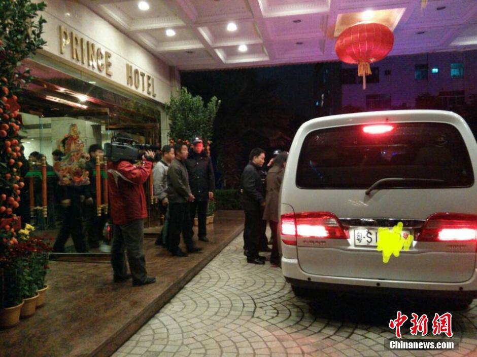 广东警方清查东莞涉黄场所