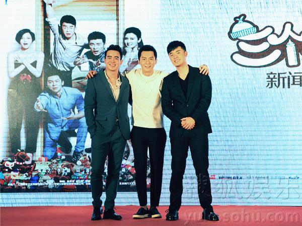 搜狐娱乐讯 由上海耀客联合华谊兄弟等出品的治愈成长喜乐合家欢《三