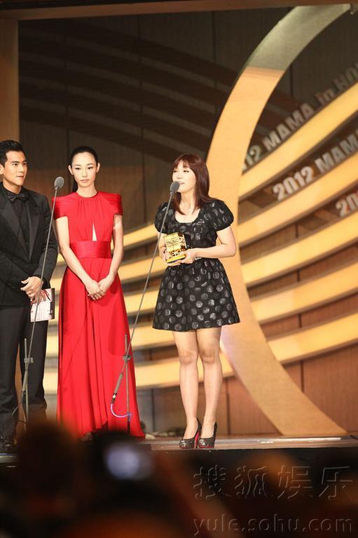 2012MAMA音乐颁奖典礼 鸟叔获4奖横扫MAMA