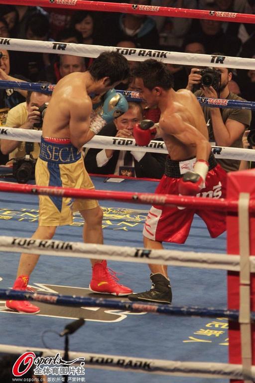 月22日,金牌拳王邹市明在澳门进行职业生涯第四战,对手是泰国19图片