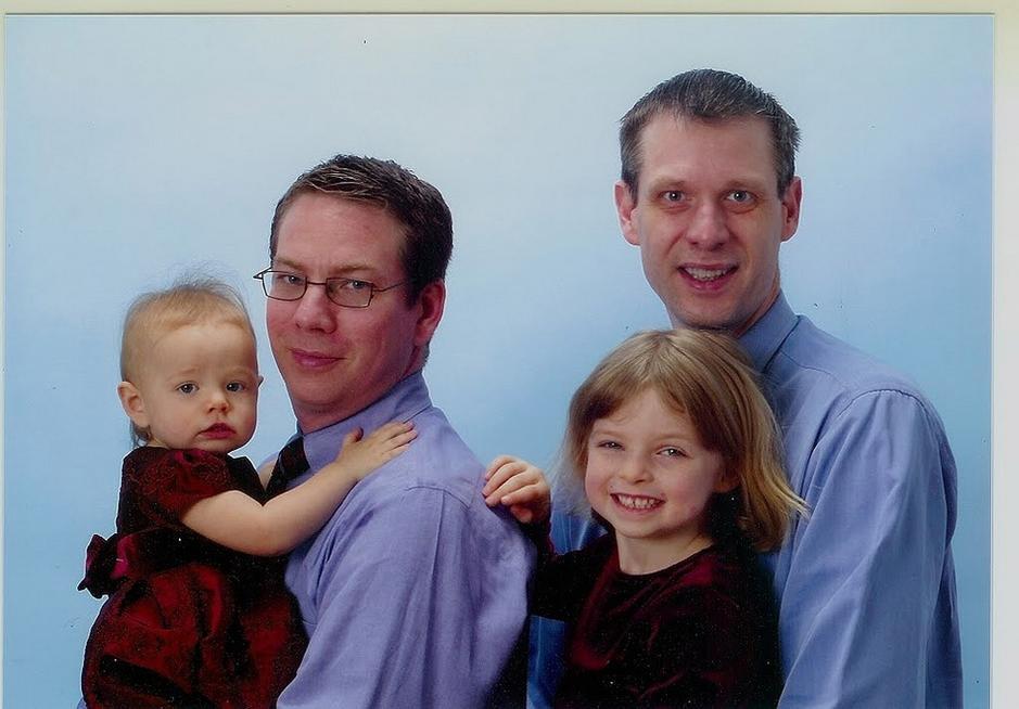 定格同性家庭的幸福瞬间