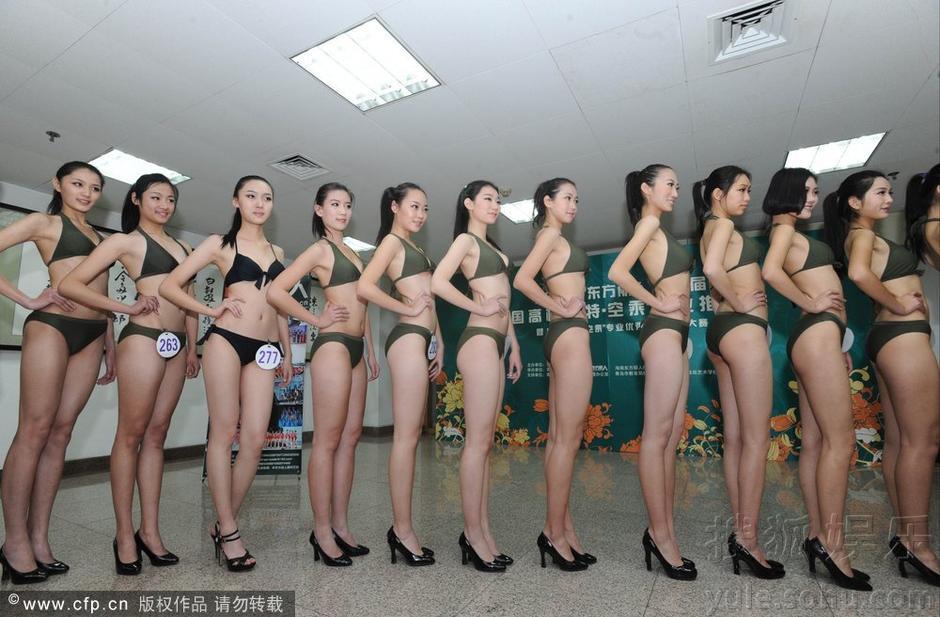 【转载】 青岛高校模特空乘推介会 700名美女帅哥参选