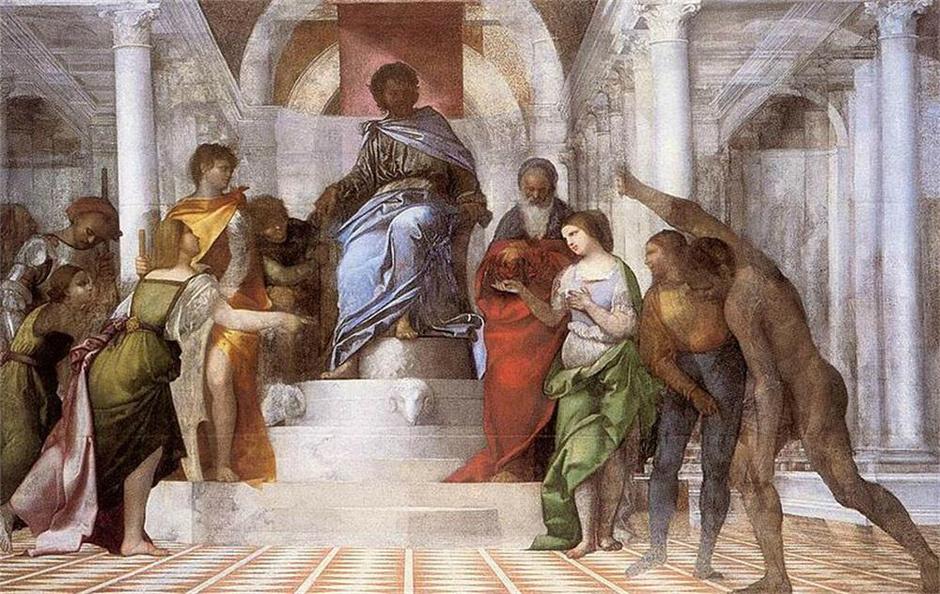 从意大利文艺复兴时期的绘画中发现建筑的闪光