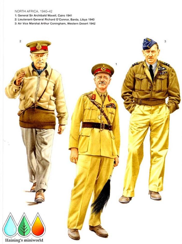 二战英军指挥官 b:北非,1940年-42年 b1:上将阿奇博尔德·威维尔