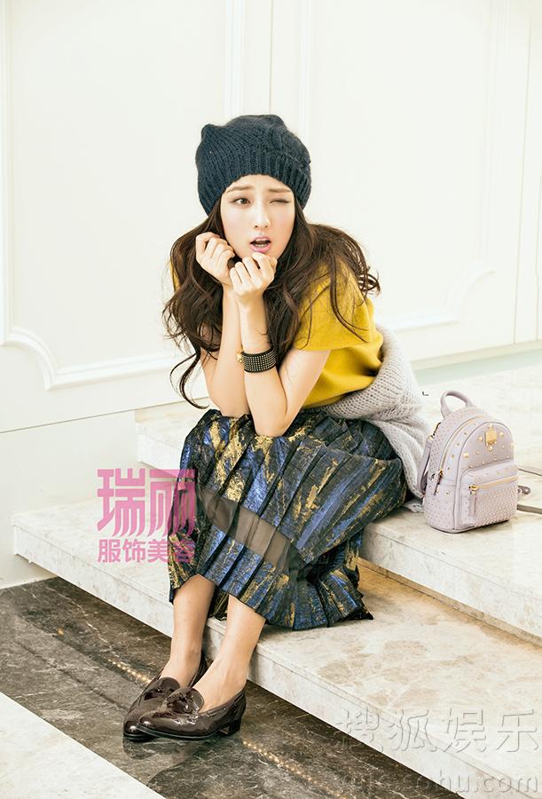 责编:李治政                  徐璐甜美可爱 搜狐娱乐讯 日前,95后