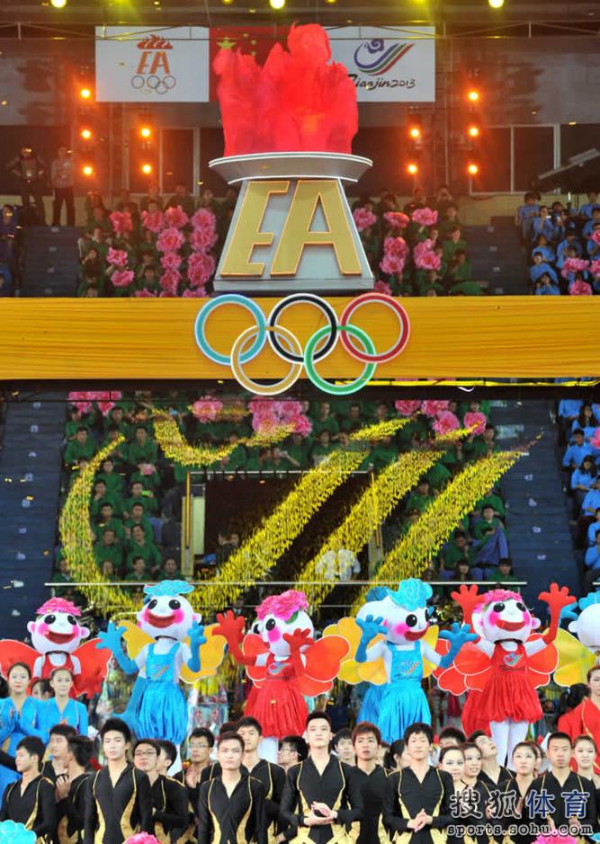 2013年东亚运动会开幕 - 长城 - 长城的博客http://jsxhscc.