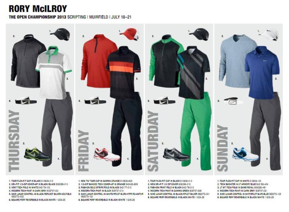 12大巨星的nike golf新款服饰5237412-奢侈品频道图片