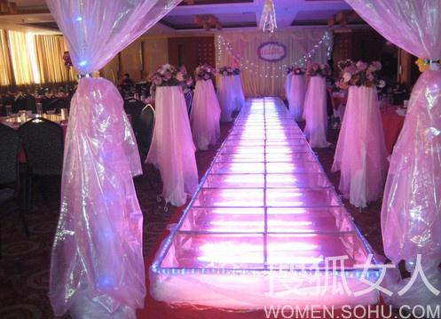 别致婚礼创意 红毯之路创意设计