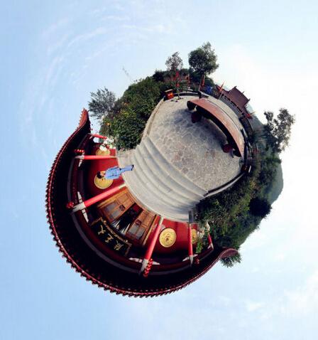 另类星球 360度看中国古建筑( 1/ 11) 分享到有时候一种创意能带来