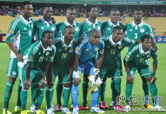 巴西世界杯尼日利亚队