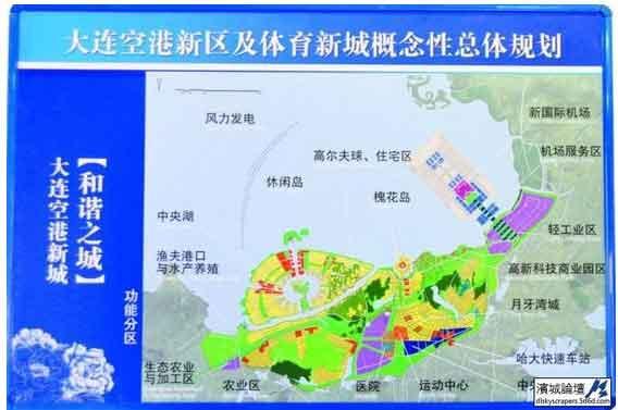 胶东新国际机场规划图