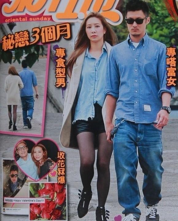 港媒踢爆余文乐与吴雨霏已秘恋三个月图片