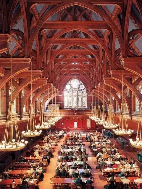 哈佛的食堂图片