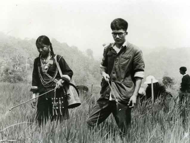 历史图片:2000万知识青年上山下乡