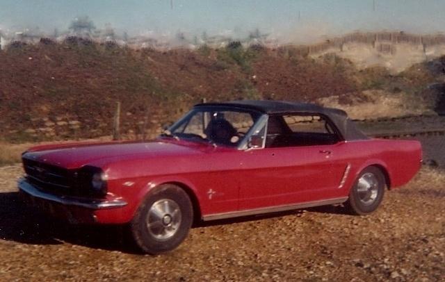 老款福特野马耗时20年被修复 价值翻100倍