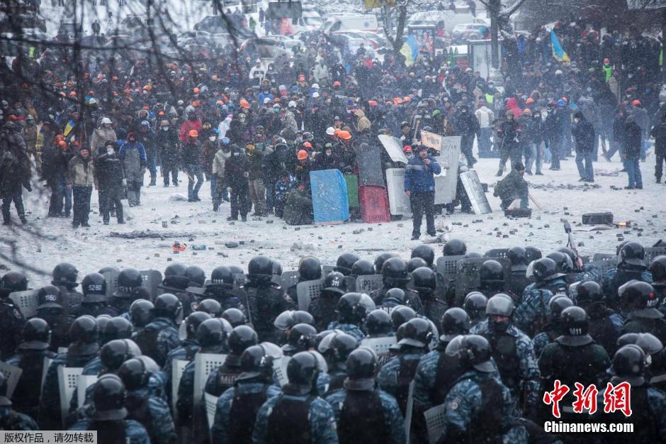 乌克兰骚乱持续多名示威者丧生 - 上海的早晨 - sunhucheng2011的博客