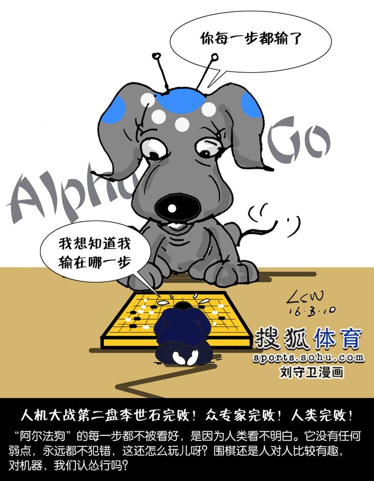刘理解人类:机器狗v人类围棋对漫画的守卫(图)-患者a人类韩国漫画图片
