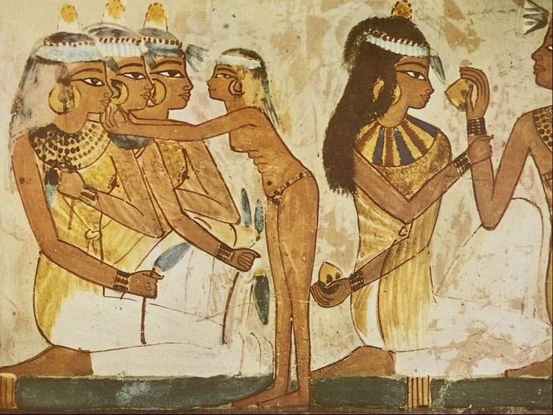 神秘的古埃及壁画5487448 文化频道图片库
