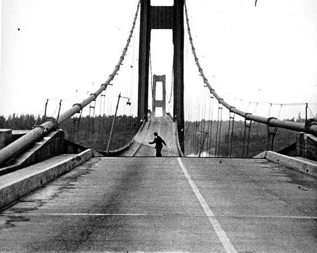 然而涉及到资金问题,塔科马海峡大桥的建造计划直到1937年才步入正轨.
