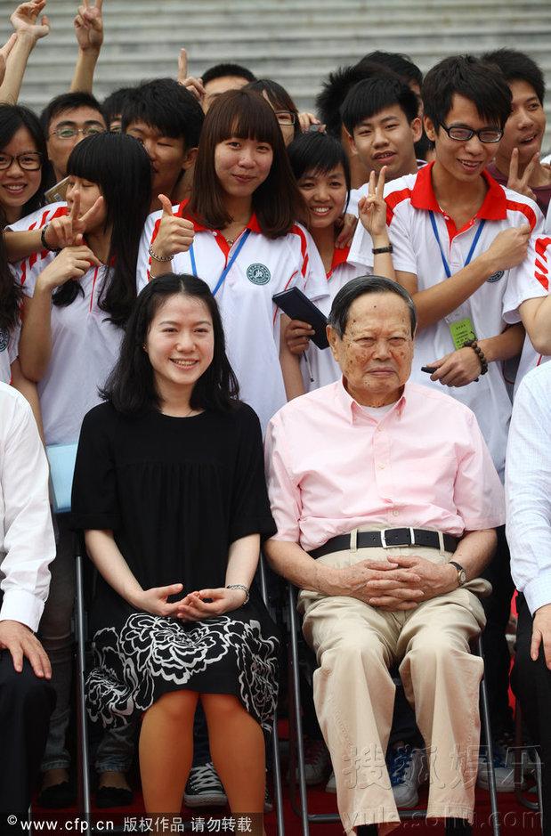90岁老翁与36岁嫩女娇妻——科学家杨振宁与翁帆 - 博爱老倌 - 博爱老倌