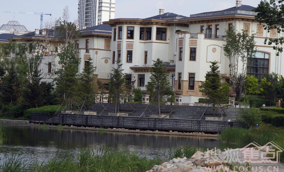 哈尔滨顶级别墅区实拍
