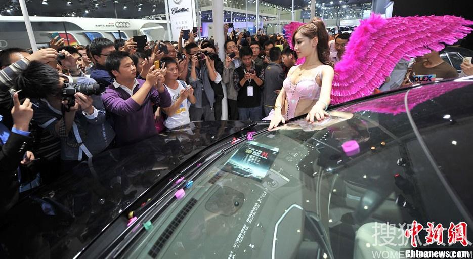 汉国际车展 性感过度不甚露点5662180 女人频