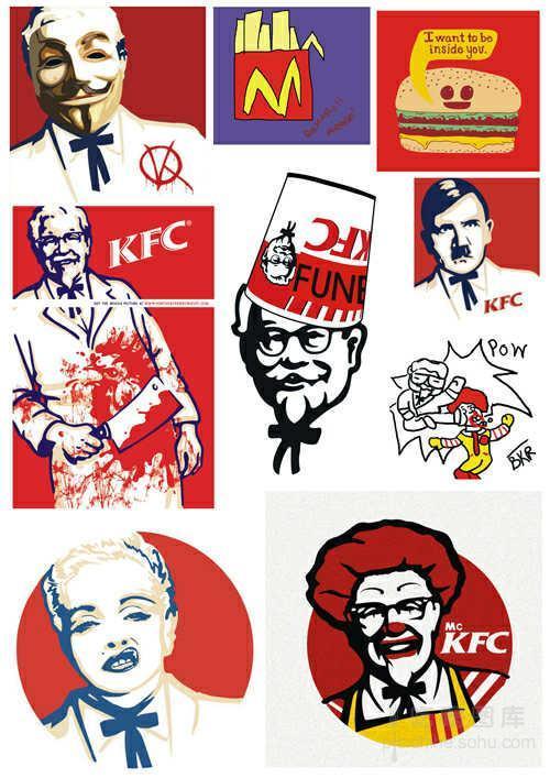 无下限恶搞:麦当劳叔叔和肯德基爷爷那些事