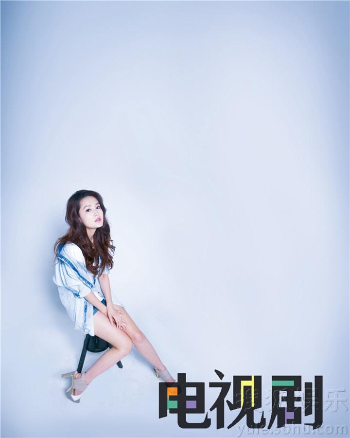 李沁最新杂志大片曝光 鬼马表情可爱不失甜美