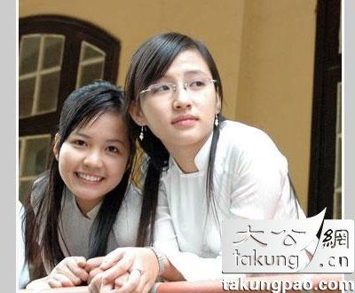 越南女大学生的美丽进化