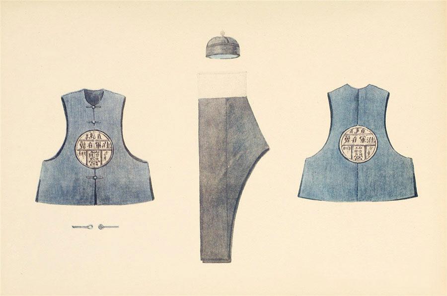民族服饰手绘图鉴