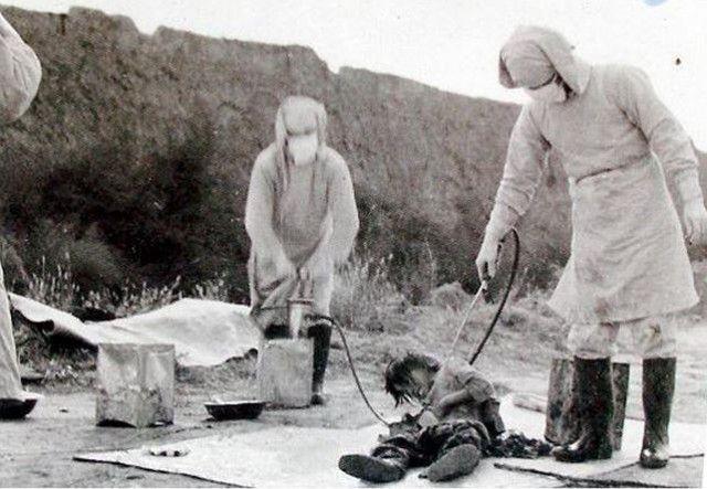 日军731部队的活体实验罕见照片