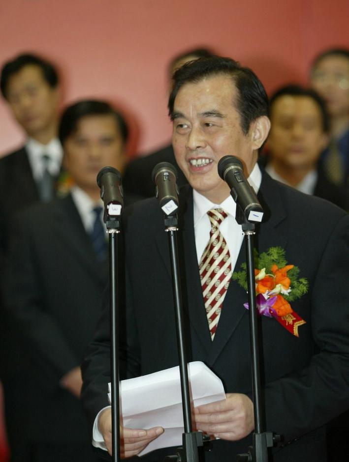 盛光祖重要讲�_图为最后一任铁道部长盛光祖.